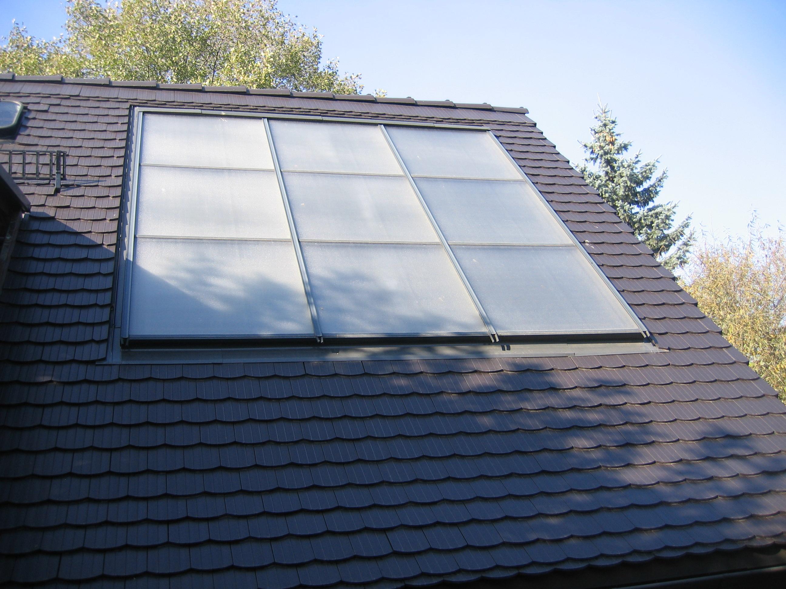 Blinkendes Dach kann nicht kanten