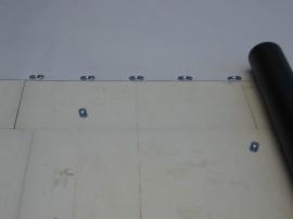 Sanierung Schleuse mit Kunststoffbahnen