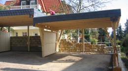Carport in Radebeul
