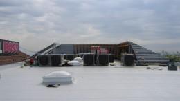 Flachdächer mit Kunststoffbahnen