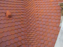 Dachziegeldeckungen