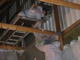 Praktiker in Dresden- Deckensanierung mit Wärmedämmung und Dampfbremse