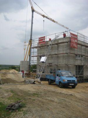 Biogasanlage Berthelsdorf Flachdach mit Kunststoffbahn